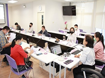 College of Hospitality Industry Management Organize a meeting to clarify components, indicators and criteria for internal educational quality assurance at the agency level. Academic Year 2020